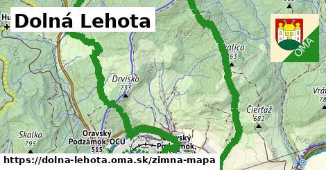 ikona Zimná mapa zimna-mapa  dolna-lehota