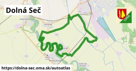 ikona Mapa autoatlas  dolna-sec
