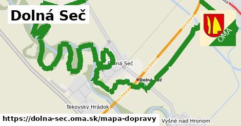 ikona Mapa dopravy mapa-dopravy  dolna-sec