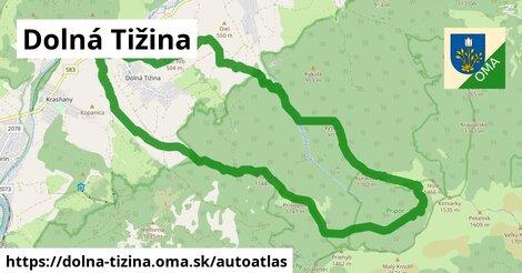 ikona Mapa autoatlas  dolna-tizina