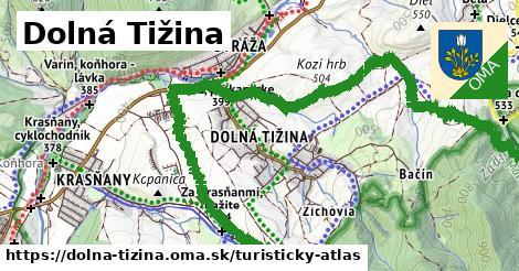 ikona Turistická mapa turisticky-atlas  dolna-tizina