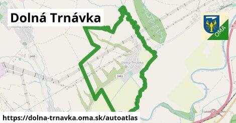 ikona Mapa autoatlas  dolna-trnavka
