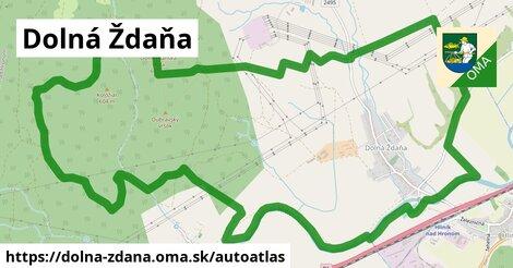 ikona Mapa autoatlas  dolna-zdana