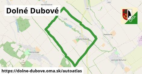 ikona Mapa autoatlas  dolne-dubove