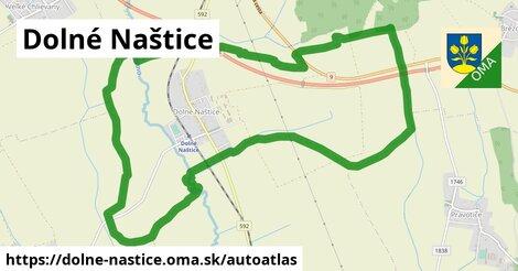 ikona Mapa autoatlas  dolne-nastice