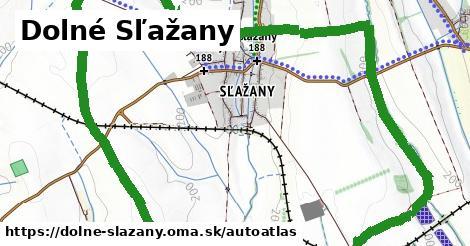 ikona Mapa autoatlas  dolne-slazany