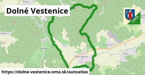 ikona Mapa autoatlas  dolne-vestenice
