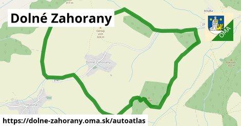 ikona Mapa autoatlas  dolne-zahorany