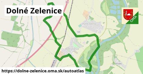 ikona Mapa autoatlas  dolne-zelenice