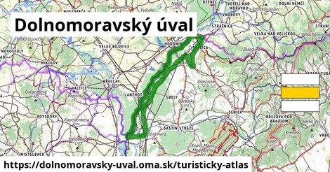 ikona Turistická mapa turisticky-atlas  dolnomoravsky-uval