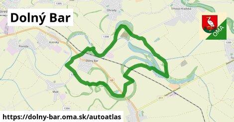 ikona Mapa autoatlas  dolny-bar