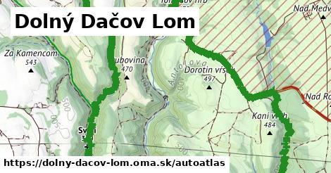ikona Mapa autoatlas  dolny-dacov-lom