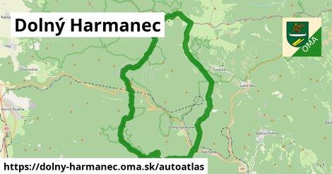 ikona Mapa autoatlas  dolny-harmanec