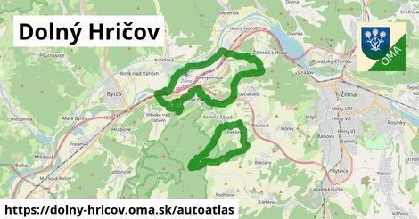ikona Mapa autoatlas  dolny-hricov