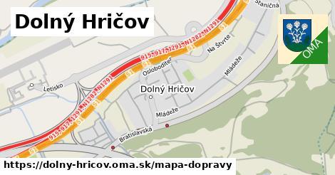 ikona Mapa dopravy mapa-dopravy v dolny-hricov