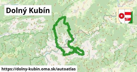 ikona Mapa autoatlas  dolny-kubin
