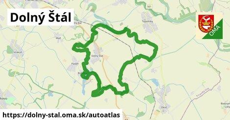 ikona Mapa autoatlas  dolny-stal