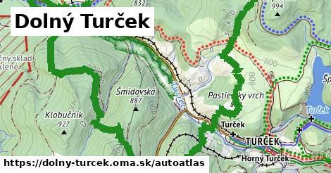 ikona Mapa autoatlas  dolny-turcek