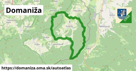 ikona Mapa autoatlas  domaniza