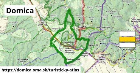 ikona Turistická mapa turisticky-atlas  domica