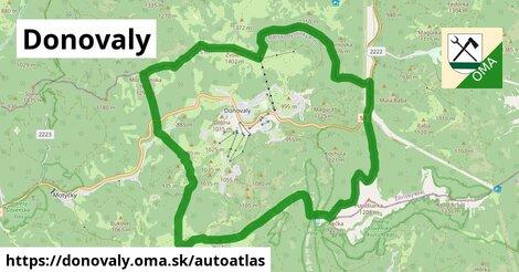 ikona Mapa autoatlas  donovaly