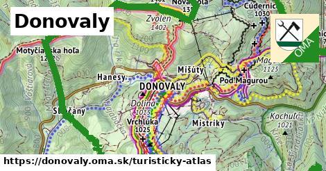 ikona Donovaly: 31km trás turisticky-atlas  donovaly