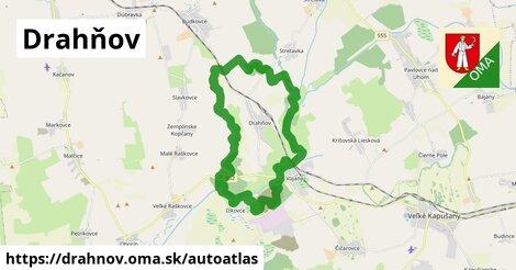 ikona Mapa autoatlas  drahnov
