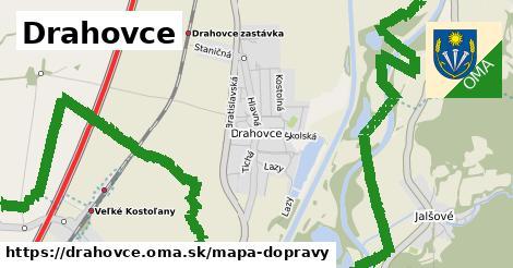 ikona Mapa dopravy mapa-dopravy  drahovce