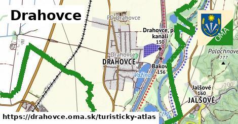 ikona Drahovce: 2,8km trás turisticky-atlas  drahovce