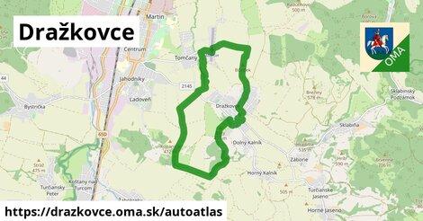 ikona Mapa autoatlas  drazkovce