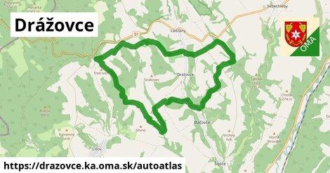 ikona Mapa autoatlas  drazovce.ka