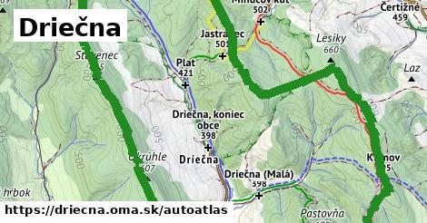 ikona Mapa autoatlas  driecna