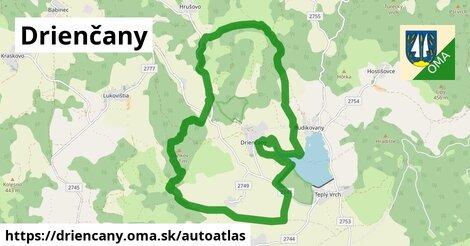 ikona Mapa autoatlas  driencany