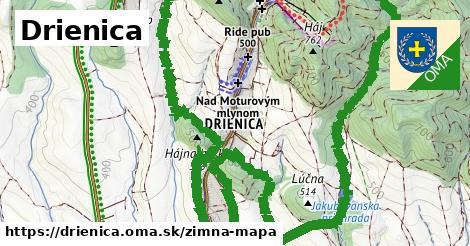 ikona Zimná mapa zimna-mapa  drienica