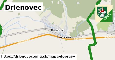 ikona Mapa dopravy mapa-dopravy  drienovec