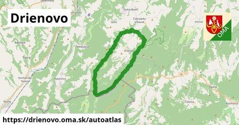 ikona Mapa autoatlas  drienovo