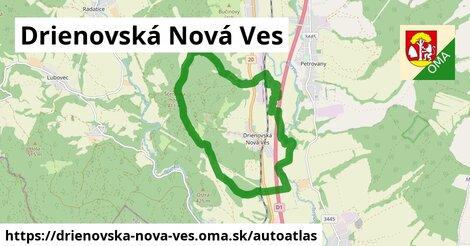 ikona Mapa autoatlas  drienovska-nova-ves