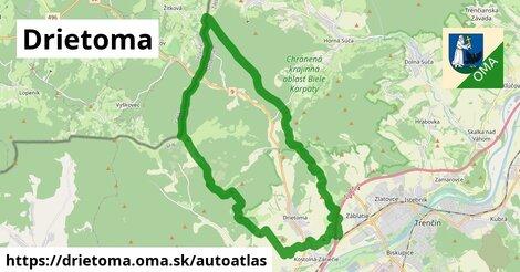ikona Mapa autoatlas  drietoma