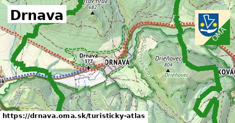 ikona Turistická mapa turisticky-atlas  drnava