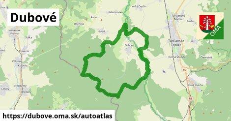 ikona Mapa autoatlas  dubove