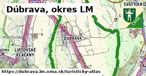 ikona Turistická mapa turisticky-atlas v dubrava.lm