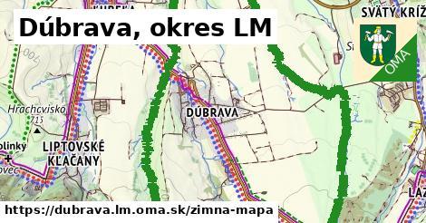 ikona Zimná mapa zimna-mapa v dubrava.lm