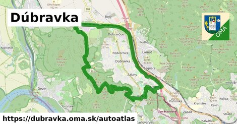 ikona Mapa autoatlas  dubravka