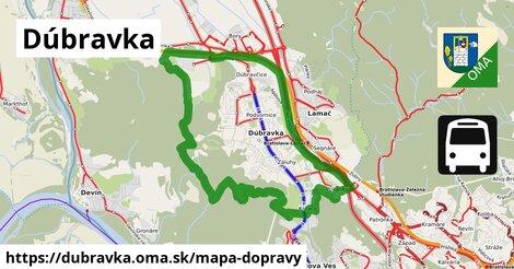 ikona Mapa dopravy mapa-dopravy  dubravka