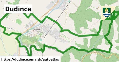 ikona Mapa autoatlas  dudince