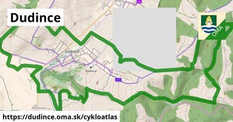 ikona Dudince: 22km trás cykloatlas  dudince