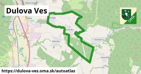 ikona Mapa autoatlas  dulova-ves