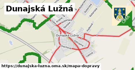 ikona Mapa dopravy mapa-dopravy  dunajska-luzna