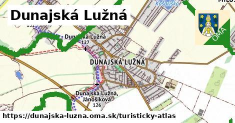 ikona Turistická mapa turisticky-atlas  dunajska-luzna