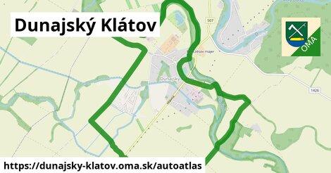 ikona Mapa autoatlas  dunajsky-klatov